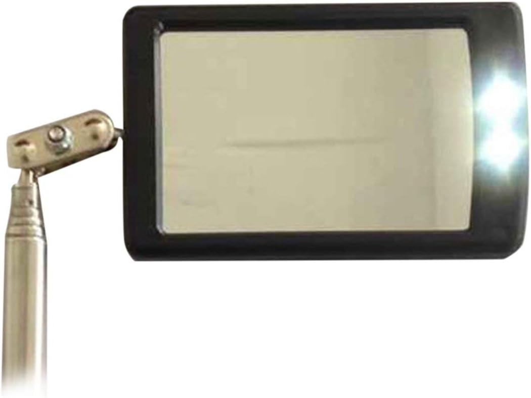Celerhuak Miroir dinspection t/élescopique avec /émetteur /à LED 360 Accessoires utiles pour v/éhicules t/élescopiques