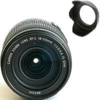 Canon 18-135mm IS STM Lens (WHITE BOX) + Lens Hard Tulip