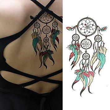 Oottati Tatuajes Temporales Old School Atrapasueños Indios (2 ...