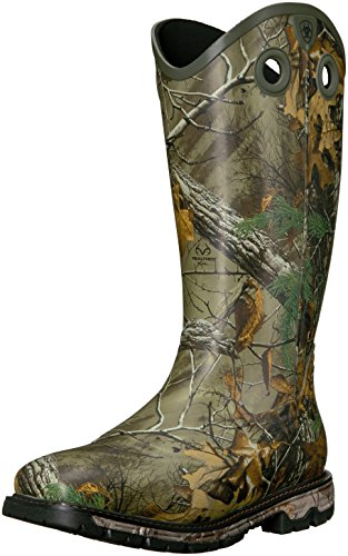 - Ariat Men's Conquest Rubber Buckaroo Insulated Hunting Boot, Real Tree Extra, 10.5 D US