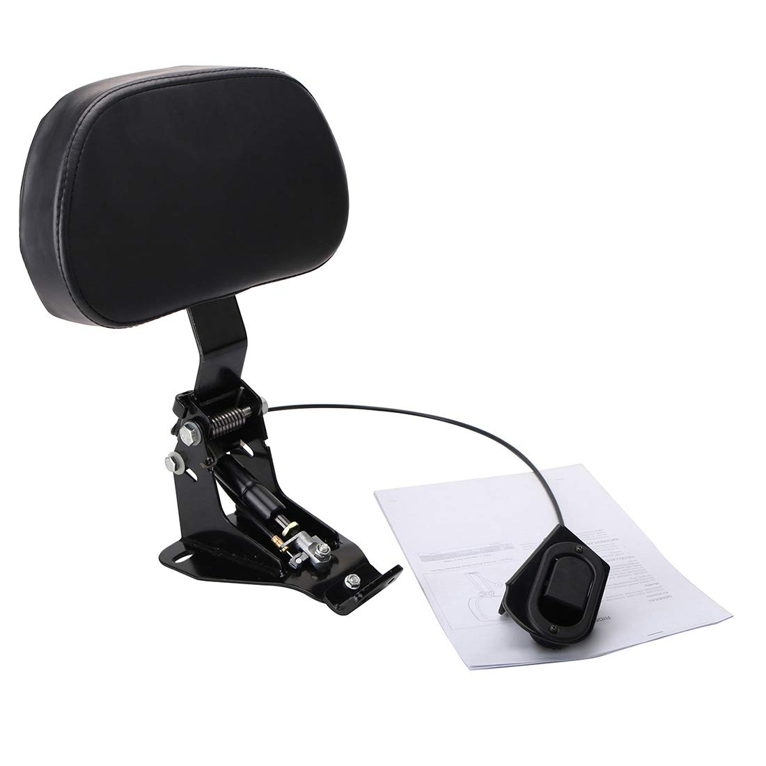 Motorcycle Detachable Adjustable Passenger Driver Rider Backrest Sissy Bar for Harley Electra Glide Street Glide Ultra CVO FLHR FLHX FLTRX 2009-2018