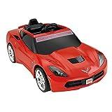 Power Wheels Red Corvette Kids Sports Car Cherry Red