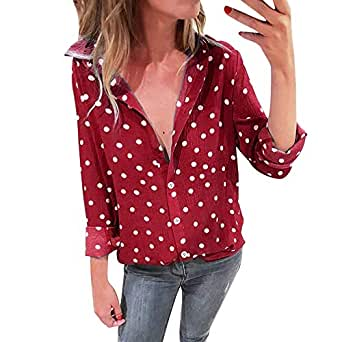 Clearance Sale! Wintialy Women Fashion Long Sleeve Shirt