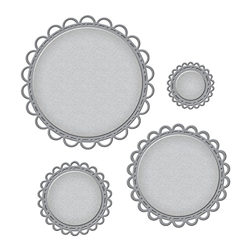 (Spellbinders Nestabilities Open Scallop Edge Circles Etched/Wafer Thin Dies)