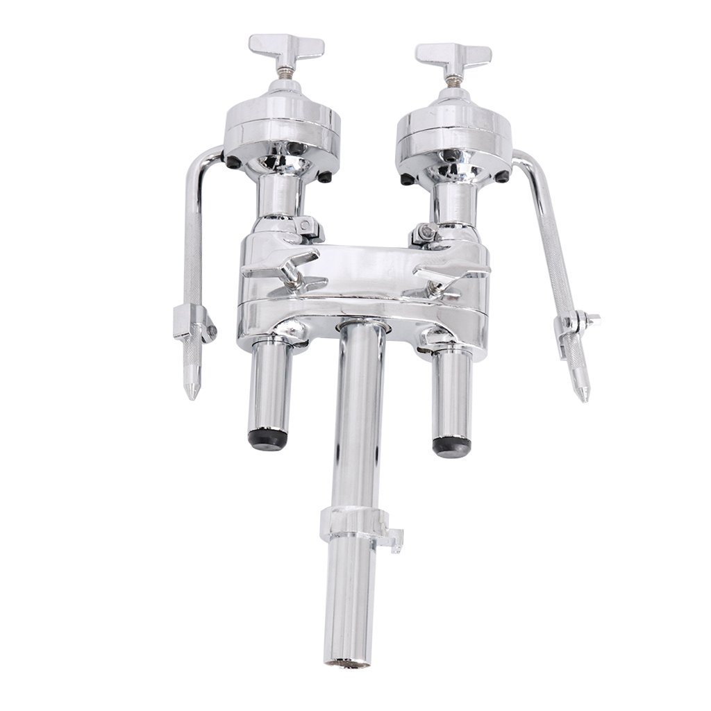 MagiDeal Zinc Alloy Double Tom Holder Stand for Drum Set Accessories non-brand STK0178002308