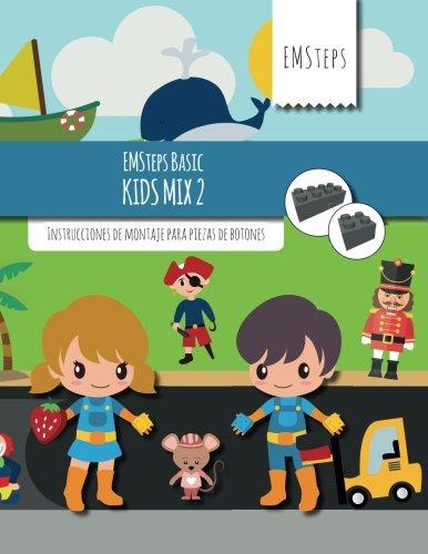 EMSteps Basic Kids Mix 2: Instrucciones de montaje para piezas de botones (Volume 2) (Spanish Edition)