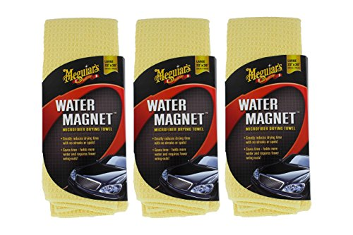 Magnet Microfiber Drying Towel (3 Pack) (Water Magnet Drying Towel)