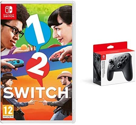 1-2 Switch & Nintendo Switch - Mando Pro Controller, Con Cable USB ...