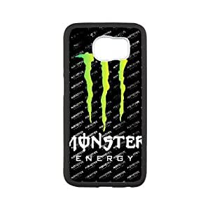 Special Design Cases Samsung Galaxy S6 Cell Phone Case Black Monster Energy Fwbxp Durable Rubber Cover