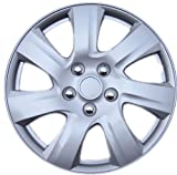 Drive Accessories KT-1021-15S/L, Toyota Camry, 15' Silver Replica Wheel Cover, (Set of 4)