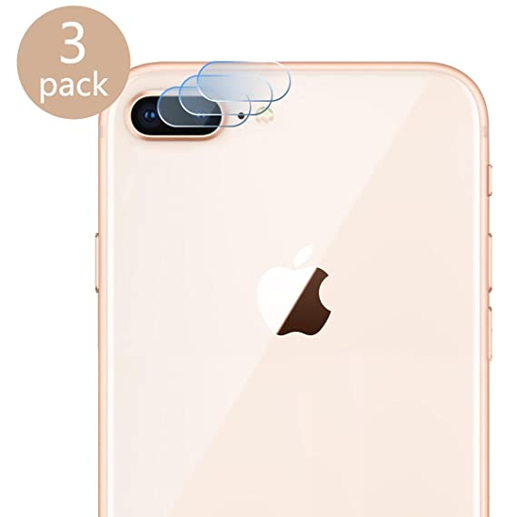official photos bc9ff a9264 Casetego Compatible iPhone 8 Plus/7 Plus Camera Lens Protector, [3 Pack]  Ultra Thin Transparent Clear Camera Tempered Glass Protector for Apple  iPhone ...