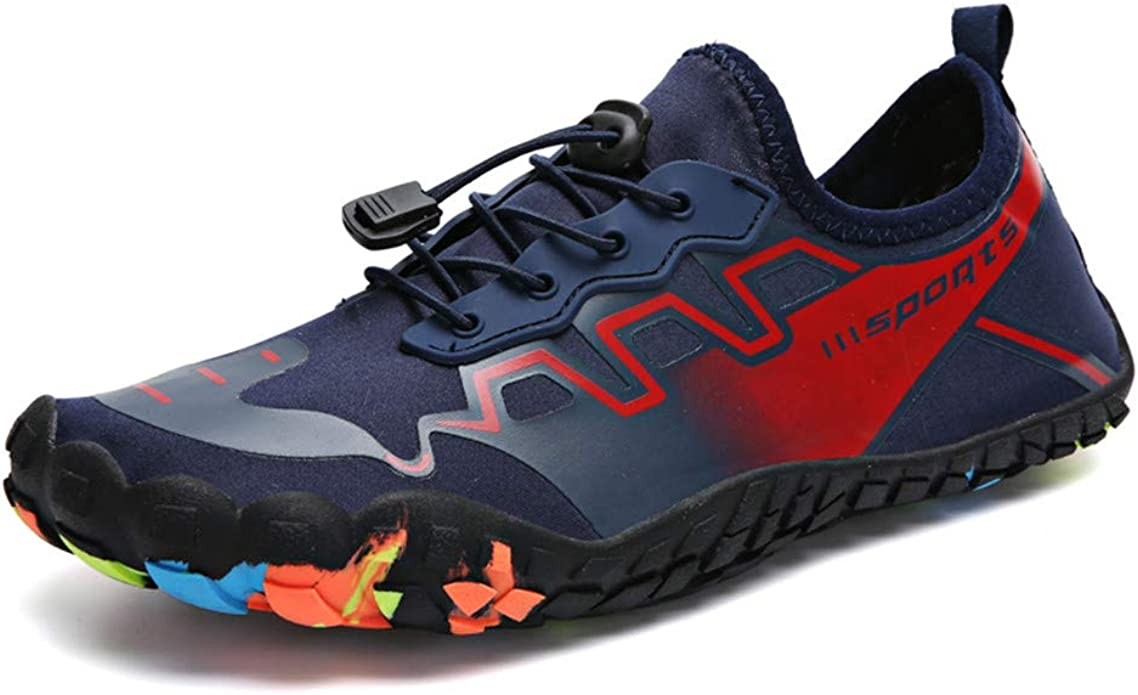 hiitave Calzado de agua para deportes de playa descalzo de secado r/ápido para unisex-adulto