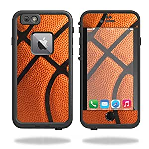 MightySkins Skin For Lifeproof iPhone 6 Plus or 6S Plus - Basketball   Protective, Durable, and Unique Vinyl Decal wrap cover   Easy To Apply, Remove, and Change Styles   Made in the USA