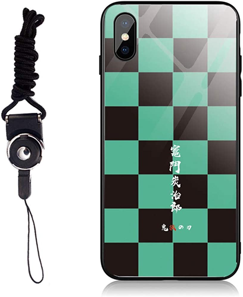 鬼滅の刃 きめつのやいば 竈門炭治郎 風 iPhone 8/7/6/X/11 Plus ケース 携帯ケース カバー スマホケース