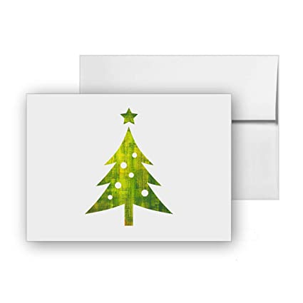 amazon com christmas tree holidays season santa blank card