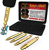 Kyпить Damaged Screw Extractor Set by Aisxle,Easily Remove Stripped Gold Oxide Edition Stripped Screw Removers (Glod) на Amazon.com