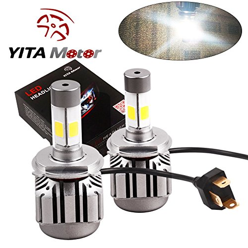 YITAMOTOR Headlight Bulbs Headlamp 8000Lm