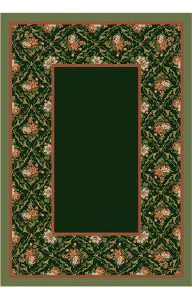 Milliken Bouquet Lace - Milliken 8539/11506 Design Center Bouquet Lace Olive Rug Size: 3'10