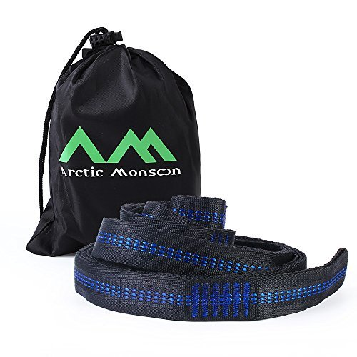 Arctic-Monsoon-Single-Hammock-210T-Parachute-Portable-Hanging-Bed-for-Camping-Relaxing