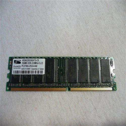 ProMos Tech PC2700 256MB DDR 333MHz CL 2.5 Model : V826632K24SATGCO