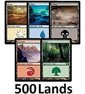 Amazon.com: Magic: the Gathering MTG Land Station (400 Basic ...