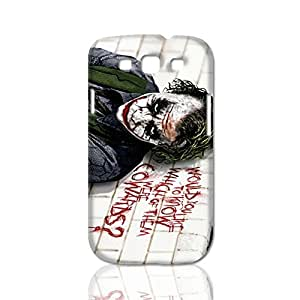 Batman Joker New Style Case ROUGH Skin 3D Hard Durable Case Cover for Samsung Galaxy S3 i9300