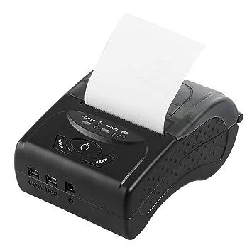 WSMLA Impresora térmica negra portátil Copiadora Mini ...