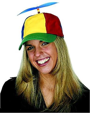 6dc88c9b3de Amazon.com  Jacobson Hat Company Men s Multi-Color Propeller Cap ...