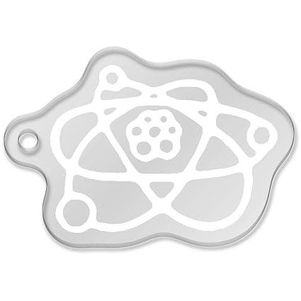 Atom de la Ciencia Llavero Grande (AK00044724): Amazon.es ...