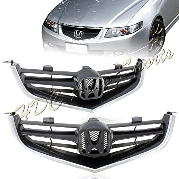 Amazon.com: 2004 2005 Acura TSX JDM Euro-R Style Front Grills ... on acura tsx shift knobs, acura tsx floor mats, acura tsx accessories, acura tsx engine, acura tsx racing, acura tsx headers, acura tsx performance, acura tsx spoilers, acura tsx warranty, acura tsx wheels, acura tsx brakes, acura tsx transmission, acura tsx exhaust systems, acura tsx gauges, acura tsx carbon fiber hood, acura tsx fender flares, acura tsx body kits, acura tsx interior, acura tsx water pump, acura tsx suspension,