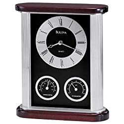 Bulova B7590 Belvedere Executive Clock