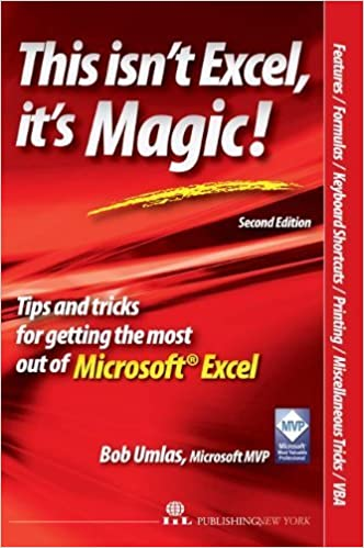 Book This Isn't Excel, It's Magic! by Bob Umlas (2007-10-24)