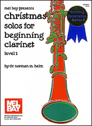 - Christmas Solos for Beginning Clarinet Level 1