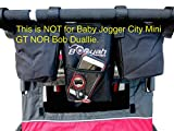 Double Stroller Stroller Organizer for Booyah Child and Large Pet Stroller. Review