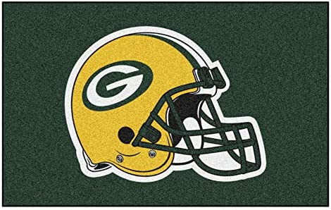 FANMATS NFL Green Bay Packers Nylon Face Ultimat Rug