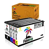 950xl 951xl Black Color Combo Pack Ink Cartridge High Yield Palmtree Replacement for HP 950 951 Compatible withHP Officejet Pro 8630 8625 8620 8600 8610 (Black Cyan Magenta Yellow)