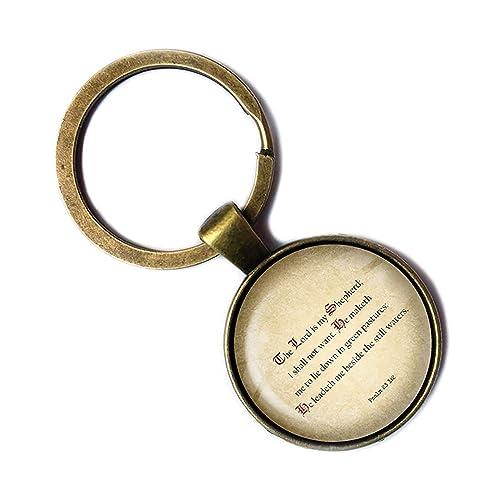 Lord Is My Shepherd  Keychain