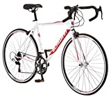 Schwinn Volare 1300 Men's Drop Bar Road Bike, 700C Wheels, 18″ Medium Frame Size, White