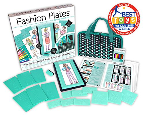 Review Kahootz Fashion Plates Deluxe