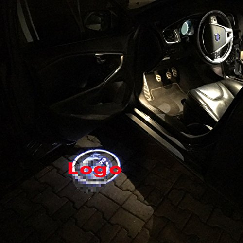 Led Door Courtesy Light for Volvo Volvo S80L S60L XC60 Led Ghost Shadow Welcome Laser Logo Projector Door Light For Volvo xc90 V60 XC60 V40CC v40 S60L S80L Led Warning Lamp