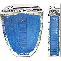 Zap Skimboard Deluxe Traction Pad Set/Skim Board Grip Combo/Tail Pad & Arch