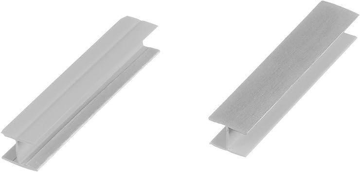 Holzbrink Verbinder Sockelblende Sockelleiste Fur Einbaukuche 150mm Hohe Aluminium Geburstet Hbk15 Amazon De Kuche Haushalt