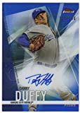 2017 Topps Finest Autograph Blue Refractor AUTO /150 #FA-DD Danny Duffy Royals