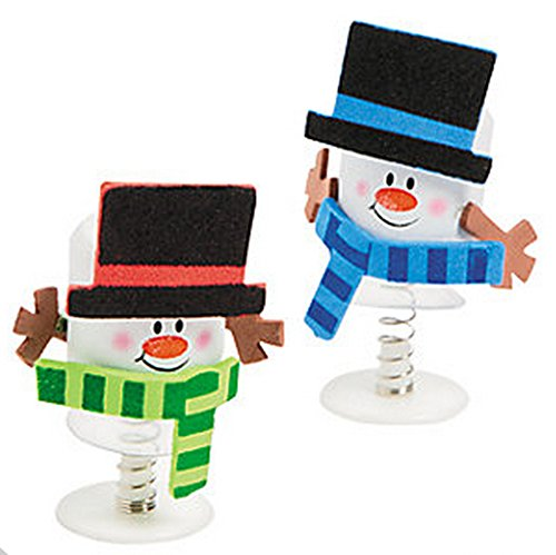 Marshmallow Snowman Pop-Up Craft Kit-Foam (Makes 12)/GOODY BAGS/Grab bags/Prizes]()