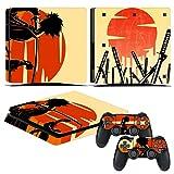 EBTY-Dreams Inc. - Sony Playstation 4 Slim (PS4 Slim) - Samurai Champloo Anime Mugen Jin Vinyl Skin Sticker Decal Protector