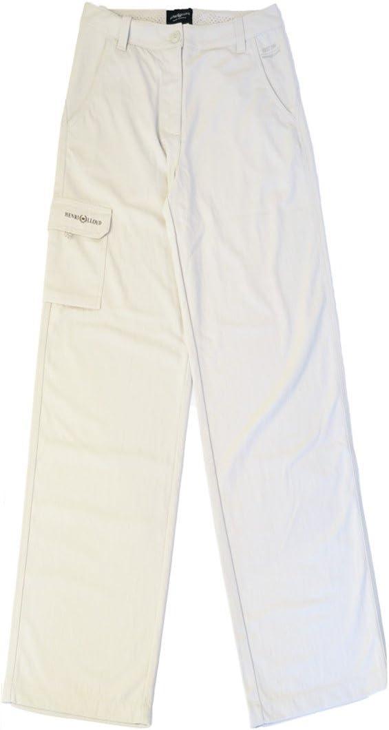 Henri Lloyd - Pantalón para Mujer de Vela rápida y Vela Ligera Dri - Gris Claro - Ligero - 50 SPF con protección UV