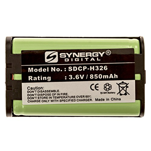 Rayovac RAY193 Cordless Phone Battery Ni-MH, 3.6 Volt, 850 mAh, Ultra Hi-Capacity Battery - Replacement Battery for PANASONIC HHR-P104, Type 29, Sony MDR-RR800/900 Series Cordless Phone Batteries