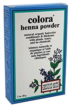 Colora Henna Powder, Apric Gold H109