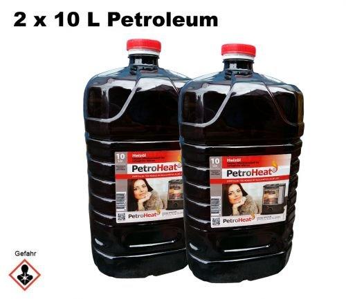 2 x Petroleum 10 L Liter Kanister für Petroleum Ofen Heizofen geruchsarm 20 keine Angabe