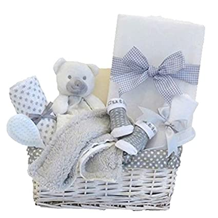 Mi primer oso de peluche cesta de regalo para bebé Unisex/bebé cesta ...